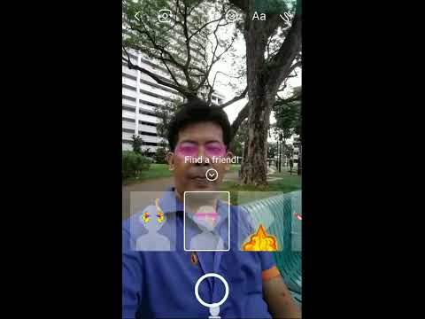 Facebook messenger video call effects tutorial