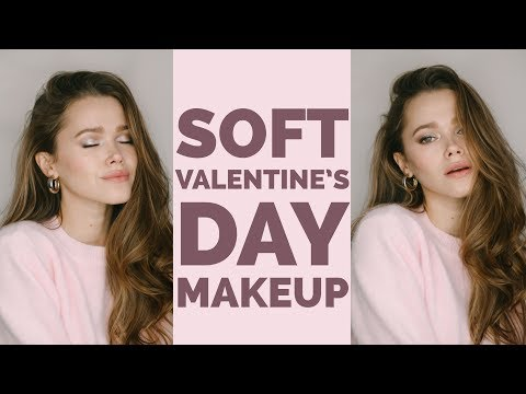 Soft & Easy Valentine's Day Makeup Tutorial 2018