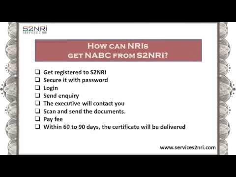 How to Fill Non Availability of Birth Certificate form by NRI