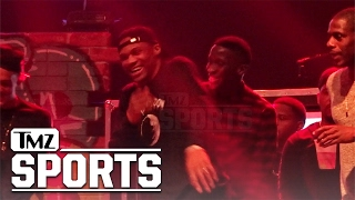 Lil Wayne Gives Russell Westbrook An Assist To Turn Up On Stage   TMZ Sports