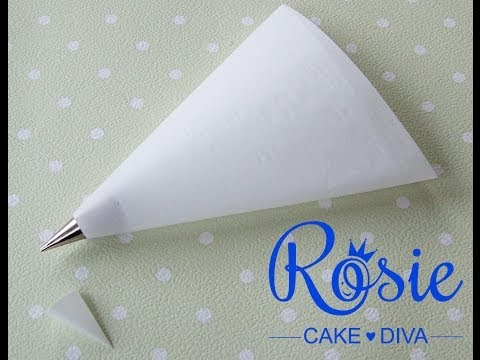 Make Your Own Piping Bags