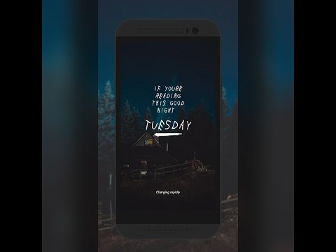 Lockscreen Setup Tutorial