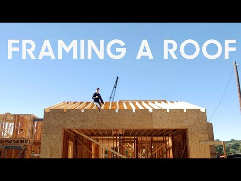 Roof Framing - Hand Cut Rafters vs. Trusses