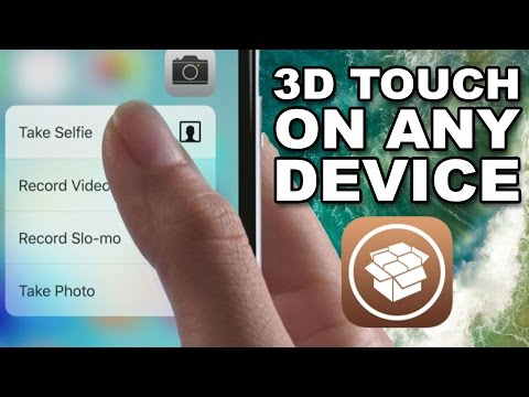 How to Get 3D Touch on Any iPhone, iPad, iPod Touch | With Jailbreak