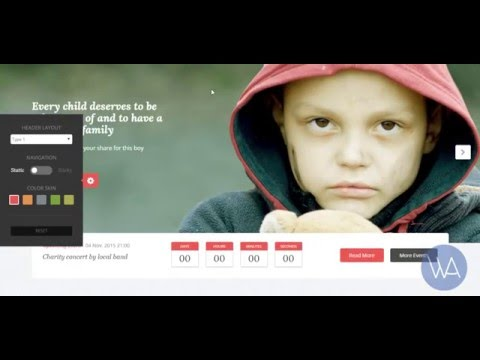 Savior – Charity & Donations WordPress Theme