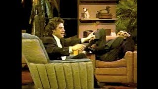 Richard Lewis on Later with Bob Costas, Parts 1 and 3 (+ 2), 1989-90