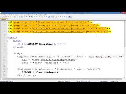 eXplore JSP with MySQL Database Connectivity-[In Hindi]