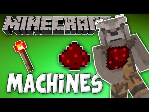 Minecraft: Redstone Smelt Machine