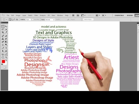 Transform Face into a Text Portrait in adobe Photoshop