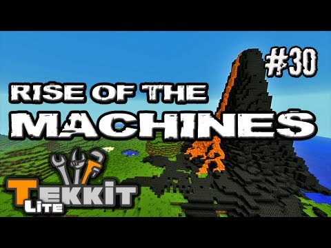 Tekkit: Lite #30 Let there be light |Rise of the Machines| (Minecraft)