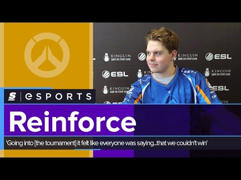 Reinforce: 'Going into [the tournament] it felt like everyone was saying...that we couldn't win'