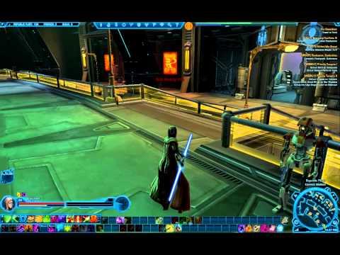 SWTOR Warmaster's Double Bladed Lightsaber