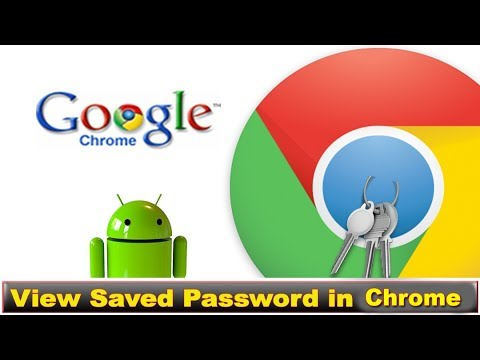 How to find saved passwords on google chrome in PC