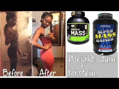 My Favorite WEIGHT GAIN protein powders & 2,000 CAL smoothie demo!!!