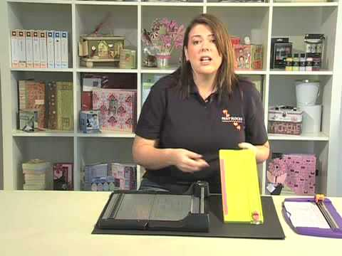 Scrapbook.TV - What is a Paper Trimmer?