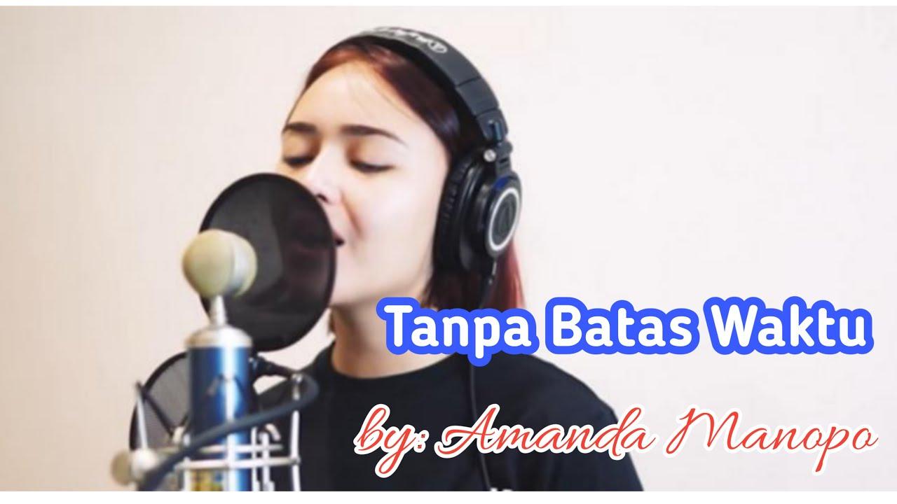 Amanda Manopo - Lirik Cover Lagu Tanpa Batas Waktu - OST Ikatan Cinta