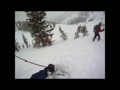 Days Fork backcountry skiing