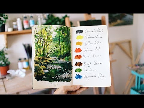 Painting & Art Talk ♥ Using References Images | Sketchbook Sunday #43