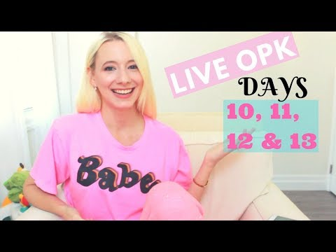 CYCLE #5 Ovulation | Positive OPK | LIVE OPK TEST | Ovulation Symptoms