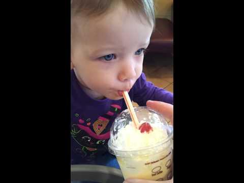 First eggnog shake
