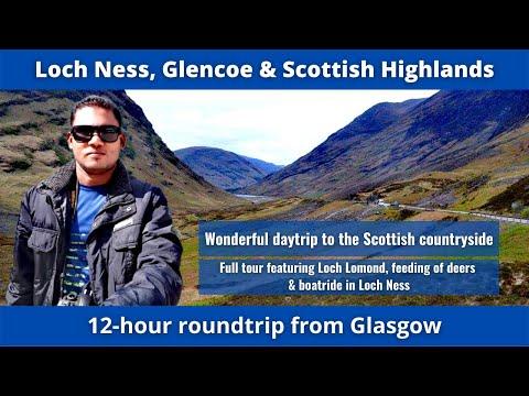 Loch Ness, Glencoe & Scottish Highlands, Scotland