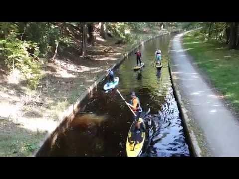 SUP TRIPS LLANGOLLEN STAND UP PADDLE BOARDING NORTH WALES GROUP INSTRUCTION CHESTER MARTIN BLYTHE