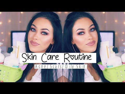 Skin care Routine | Acne/ Scars/ Oily to Combination Skin