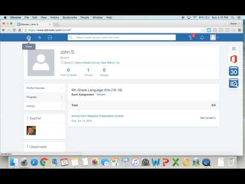 Edmodo- How To for Students