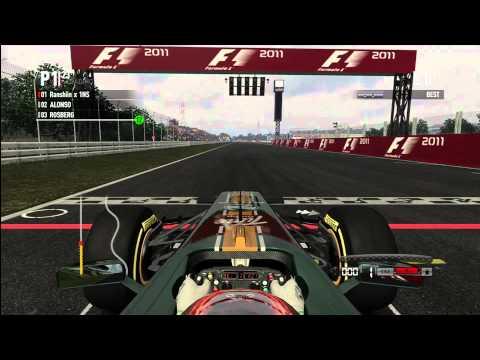 F1 2011 (Xbox 360) - Random Online Gameplay