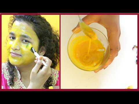 How to get rid of acne & pimples with turmeric face packs - Removes Pimples & Wrinkles Instantly