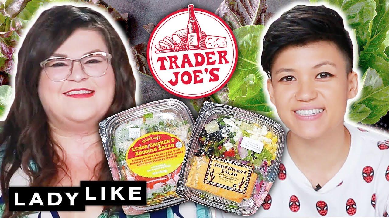 We Tried Every Salad From Trader Joe's • Ladylike