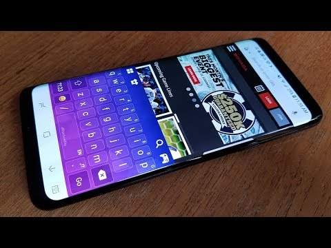 How To Change Keyboard Color On Galaxy S9 / S9 Plus - Fliptroniks.com