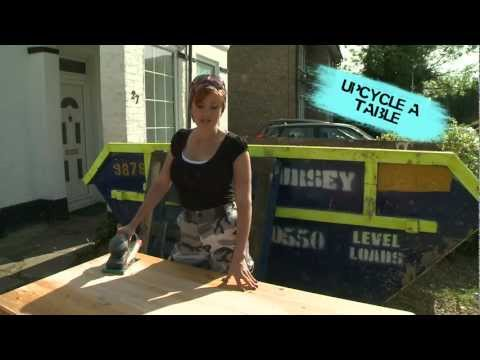 HOW to up-cycle refurbish sand paint wooden furniture. Tips & Tricks of the Trade