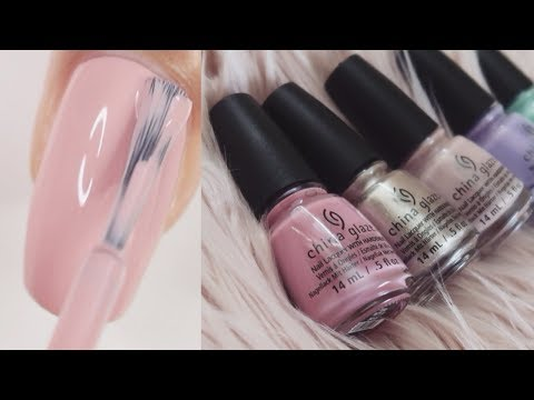 China Glaze Chic Physique 2018 Spring Collection | Swatch and Review