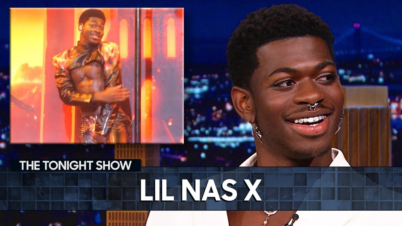 Lil Nas X Details His SNL Wardrobe Malfunction   The Tonight Show Starring Jimmy Fallon
