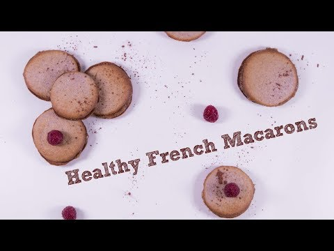 Healthy French Macarons ( no flour ) ❤