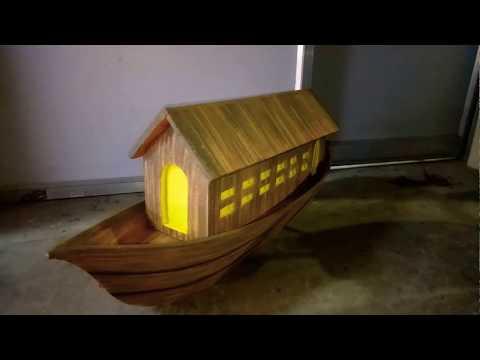 School Project - Boat House Model ( www.schoolprojectcenter.in )