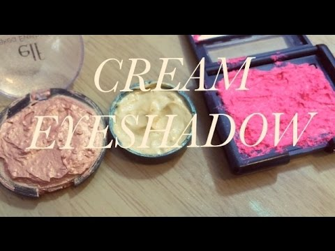 DIY cream eyeshadow ❤️