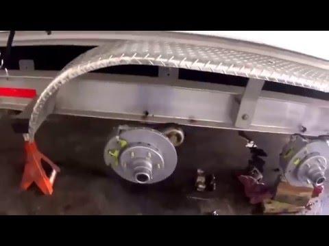 Boat Trailer Disc Brake Job