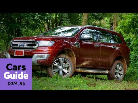 2015 Ford Everest SUV review | first drive