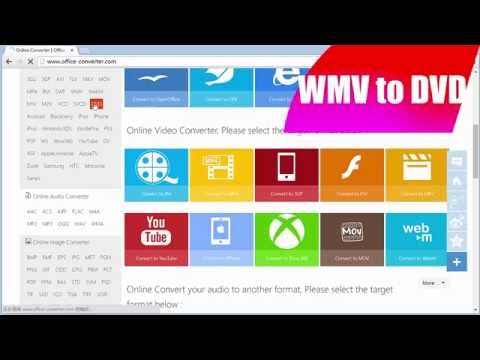 WMV to DVD - How to Convert WMV to DVD