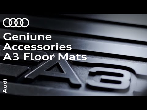 Audi Genuine Accessories – A3 Floor Mats