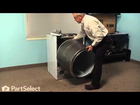 Dryer Repair - Replacing the Idler Pulley Wheel (GE Part # WE12X83)