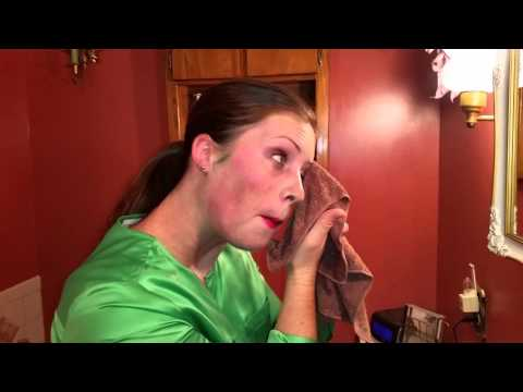 Norwex body cloth removes halloween makeup