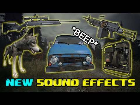 Sound Effects Coming to DayZ | M249, Skoda, Generator & more