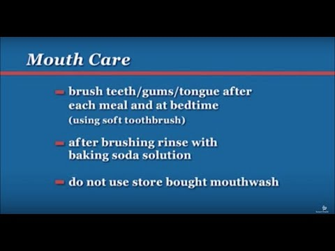 Chemotherapy: Mouth Care