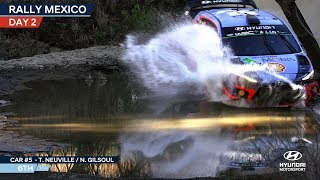 Rally Mexico Day Two - Hyundai Motorsport 2018