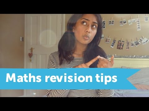 Maths revision tips that work