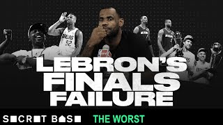 LeBron James' worst playoff game was the 2011 Finals failure all his doubters wanted to see