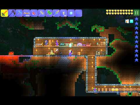 Terraria:how to craft the hallowed armor and weapo